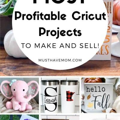 Most Profitable Cricut Projects To Sell For A Side Hustle