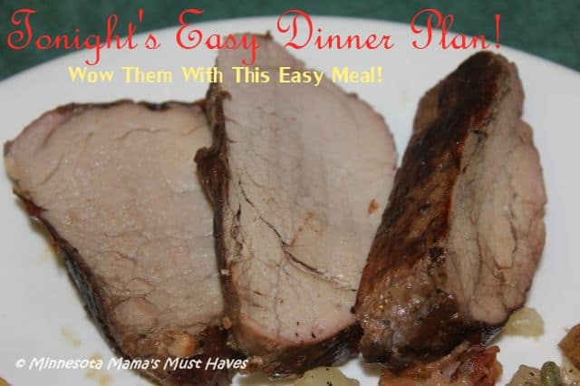 Easy Hormel Pork Tenderloin Recipes! Wow them with this easy dinner idea!