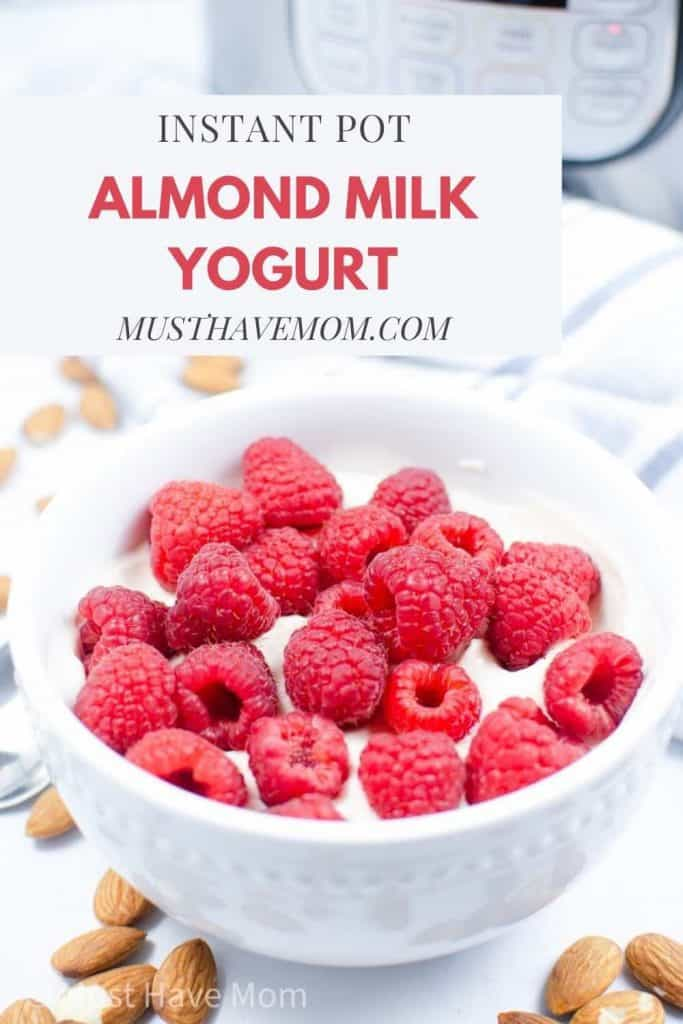 Instant Pot almond milk yogurt