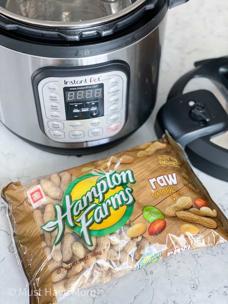 raw peanuts for boiling