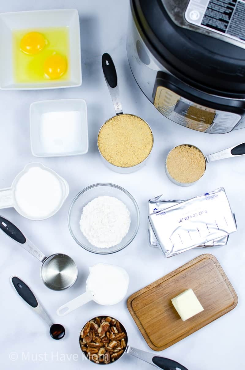 instant pot cheesecake ingredients