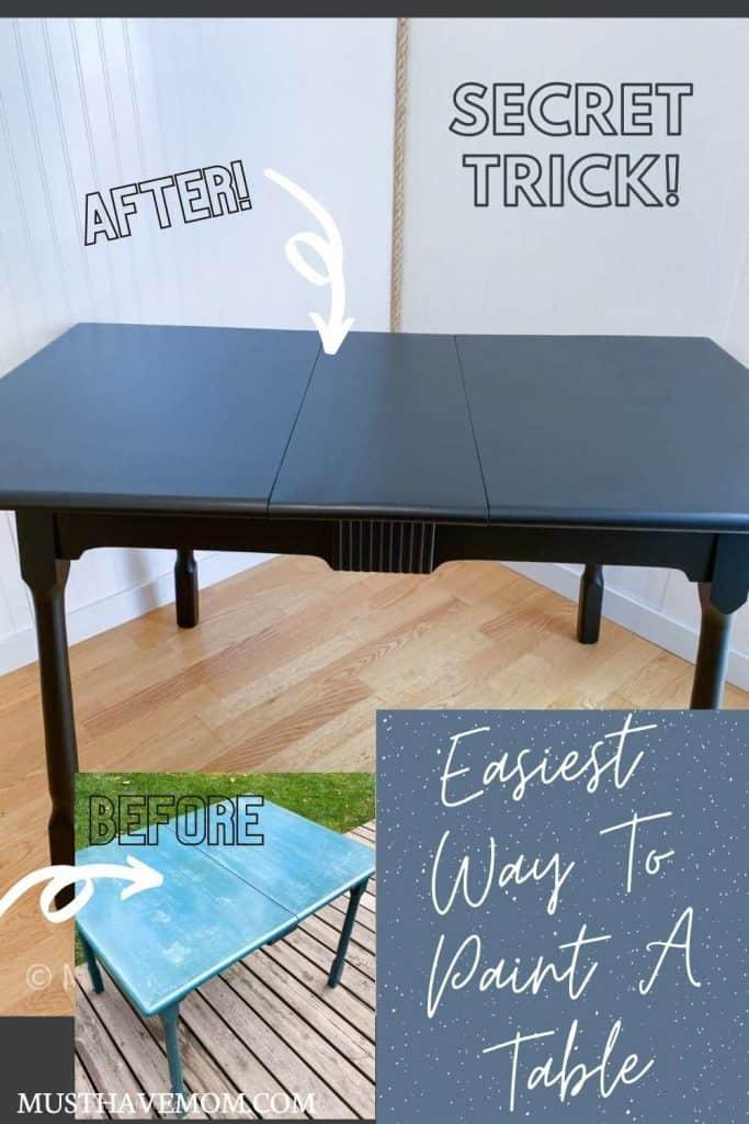 paint kitchen table