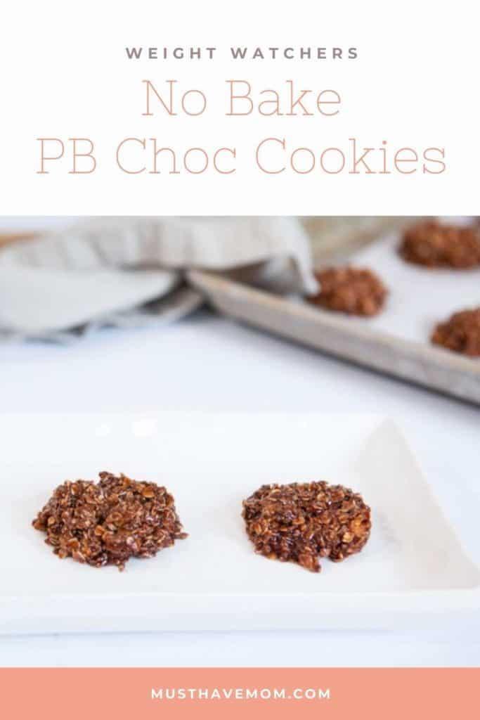 no bake weight watchers cookies