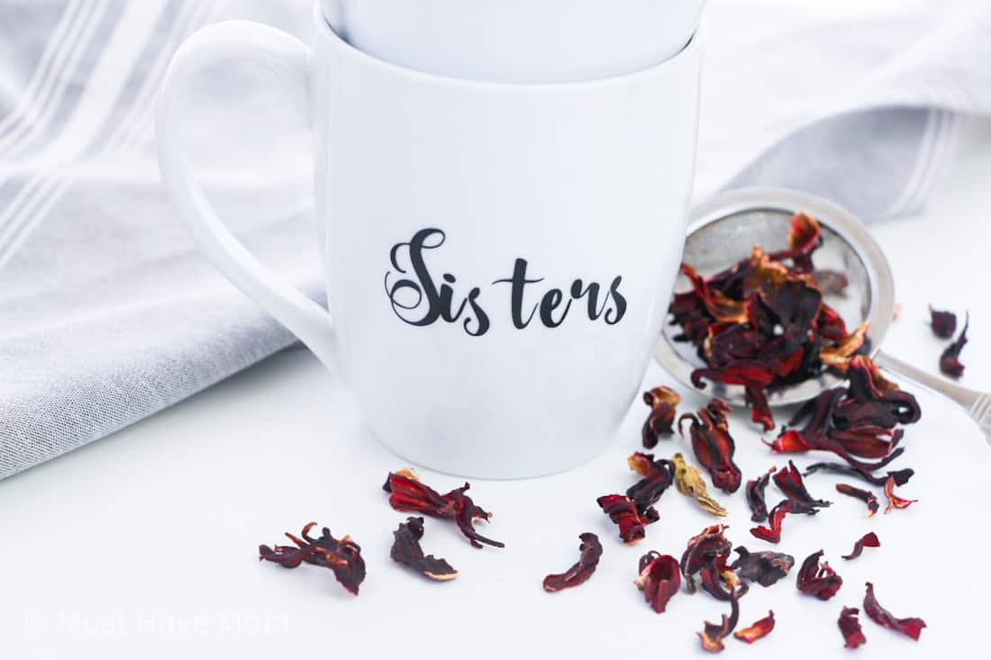 cute sisters mugs for gift