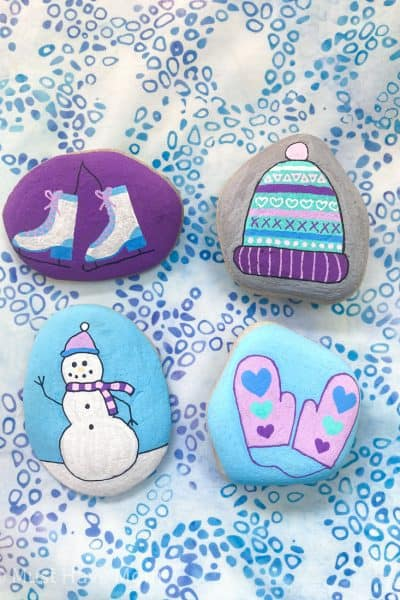 easy rock painting ideas for kids