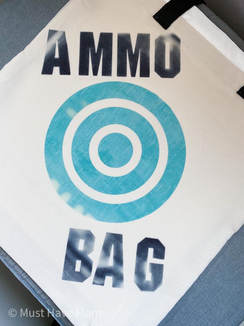 Nerf ammo bag DIY
