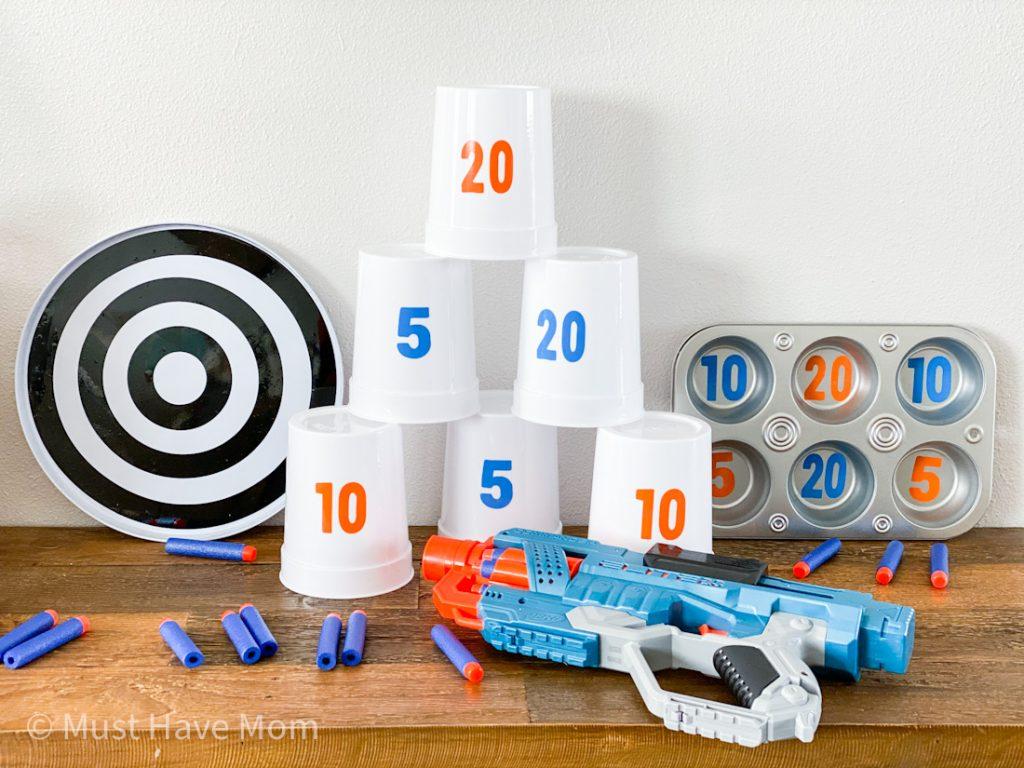 best DIY nerf gun targets
