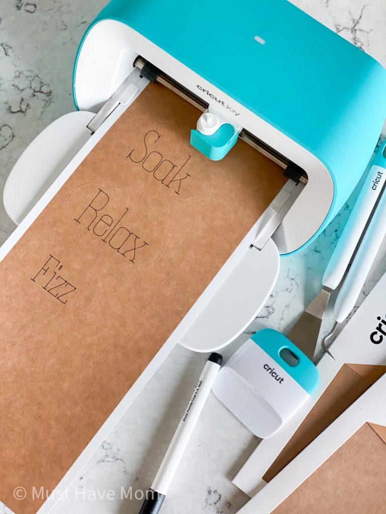Cricut Joy writable paper projects