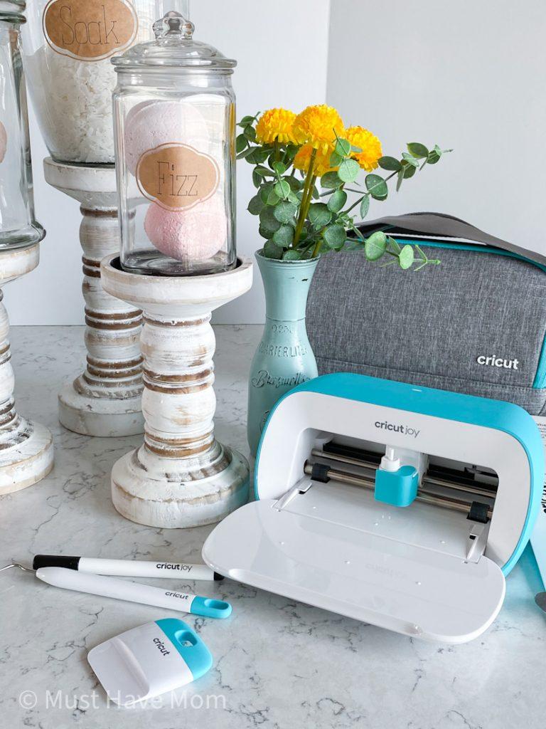 self care at home using Cricut Joy
