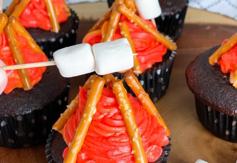Easy campfire cupcakes recipe