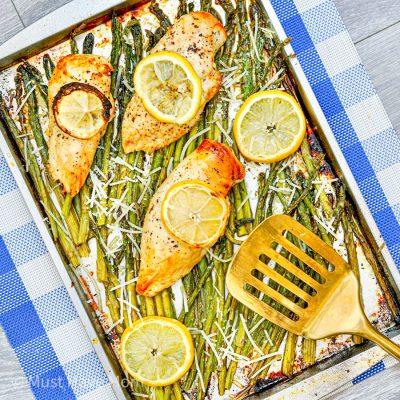 Chicken and Asparagus Sheet Pan Dinner
