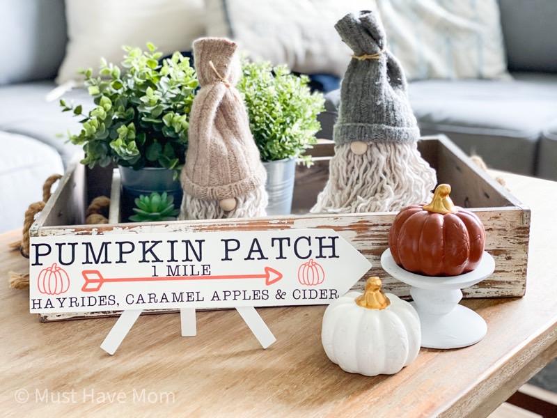 pumpkin decor ideas farmhouse style
