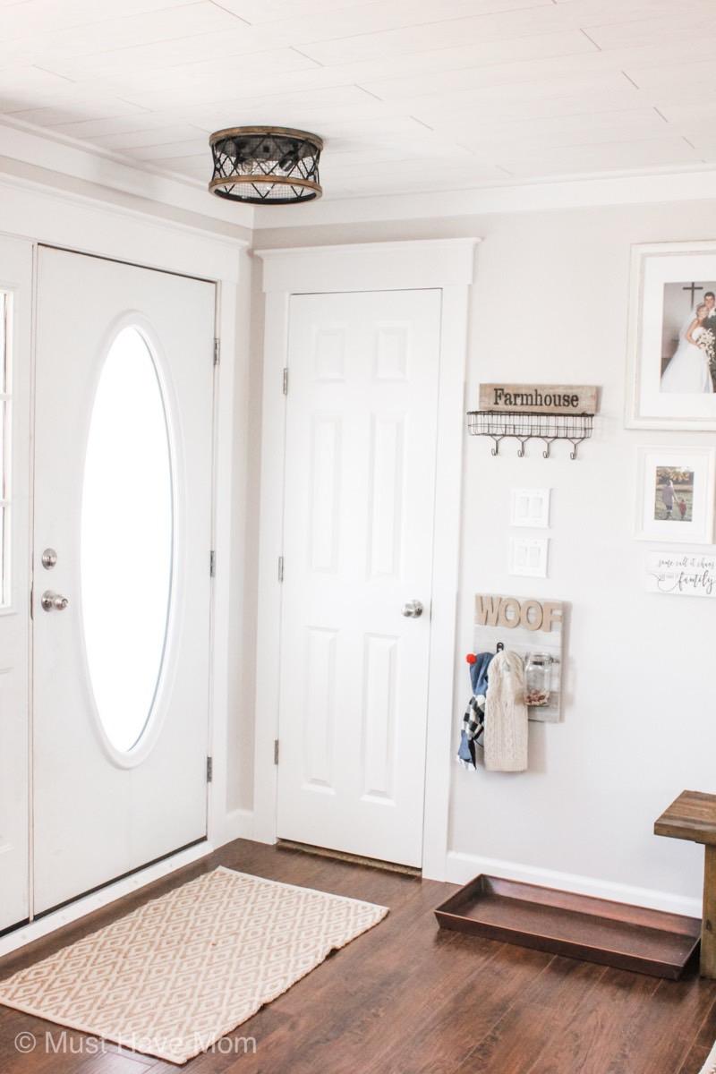 entry way remodel doorway