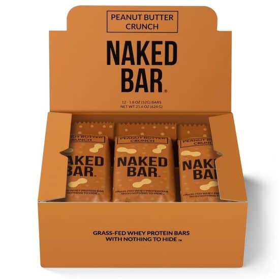 Naked Nutrition protein bars