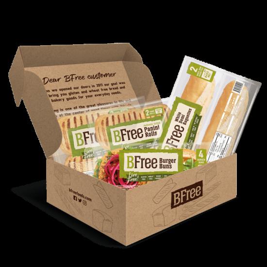 BFree gluten free breads